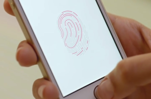 iphone touchid panic button