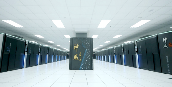 China's Sunway TaihuLight supercomputer