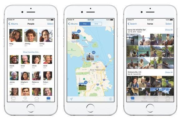 ios 10 photos facial recognition