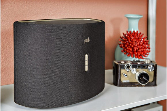 Polk Omni S6 in black.