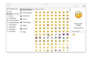 macos emoji input