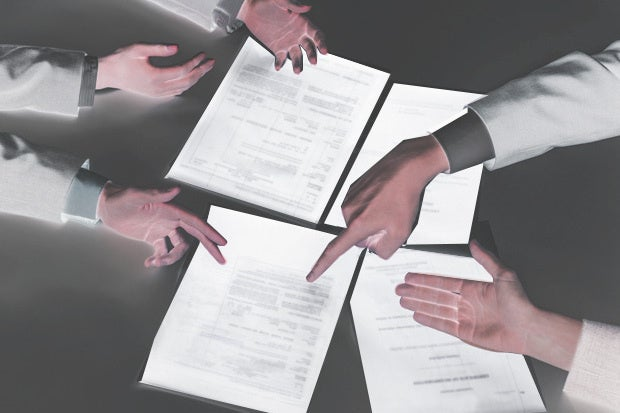 misunderstood contracts disagreement argue blame