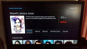 Netflix Comcast X1 Jessica Jones