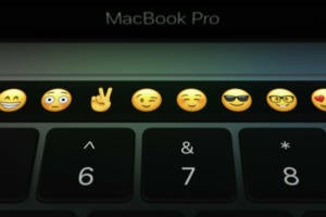 macbook pro touch bar emoji