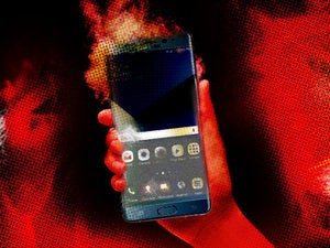 samsung note 7 fire burning burn