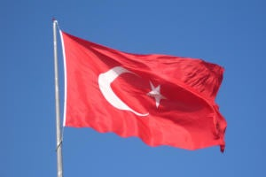 Turkish flag Turkey