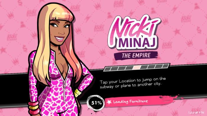 nicki minaj the empire glu mobile game