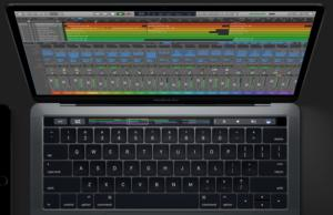 logic pro x touch bar support macbook pro