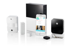 abode product family with iphone