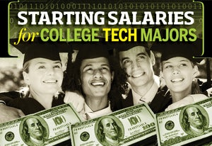 2014's Starting Salaries for College Tech Majors