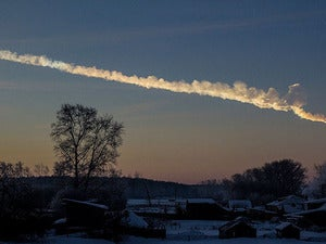 meteor shooting star sky dusk evening